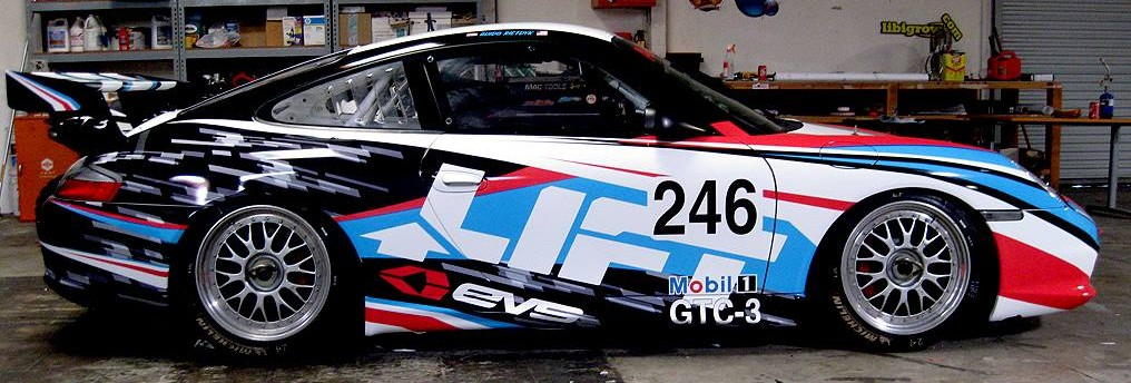 Race Car Wrapped by Big City Wraps
